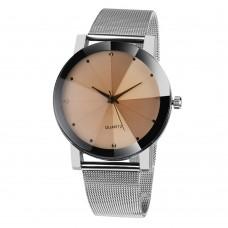 Дамски модерен, стоманен, кристален часовник